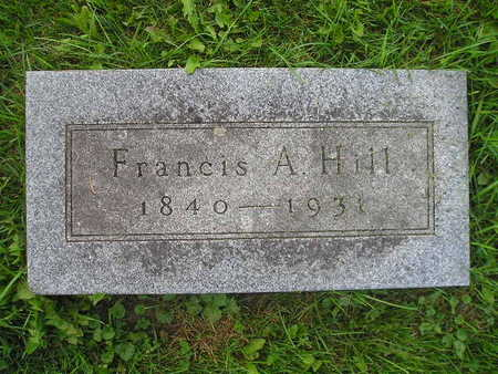 HILL, FRANCIS A - Bremer County, Iowa | FRANCIS A HILL