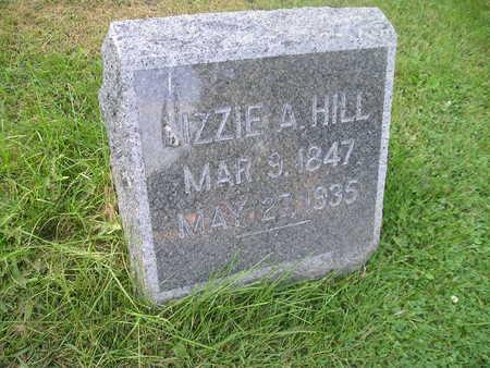 HILL, LIZZIE A - Bremer County, Iowa   LIZZIE A HILL