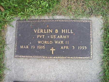HILL, VERLIN B - Bremer County, Iowa | VERLIN B HILL