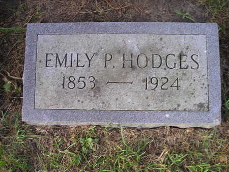 HODGES, EMILY P - Bremer County, Iowa   EMILY P HODGES