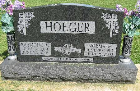 HOEGER, RAYMOND C. - Bremer County, Iowa | RAYMOND C. HOEGER