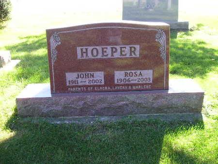 HOEPER, ROSA - Bremer County, Iowa | ROSA HOEPER