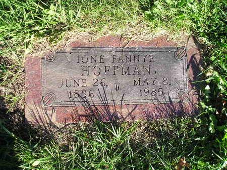 HOFFMAN, IONE FANNYE - Bremer County, Iowa | IONE FANNYE HOFFMAN