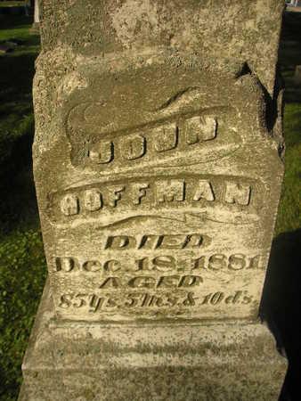 HOFFMAN, JOHN - Bremer County, Iowa   JOHN HOFFMAN