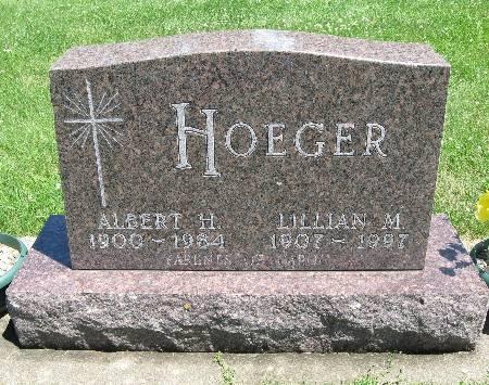 HOGER, ALBERT H - Bremer County, Iowa | ALBERT H HOGER