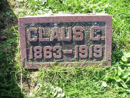 HOHNSBEHN, CLAUS C - Bremer County, Iowa | CLAUS C HOHNSBEHN