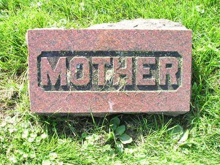 HOHNSBEHN, MOTHER (CLAUS C) - Bremer County, Iowa | MOTHER (CLAUS C) HOHNSBEHN
