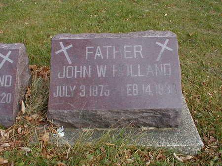HOLLAND, JOHN W - Bremer County, Iowa | JOHN W HOLLAND