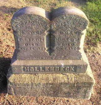 HOLLENBECK, NELLIE F - Bremer County, Iowa | NELLIE F HOLLENBECK