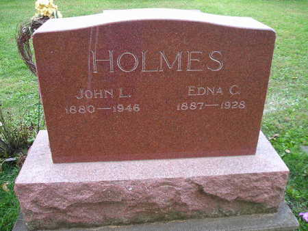 HOLMES, EDNA C - Bremer County, Iowa | EDNA C HOLMES