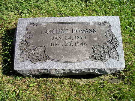 HOMANN, CAROLINE - Bremer County, Iowa | CAROLINE HOMANN