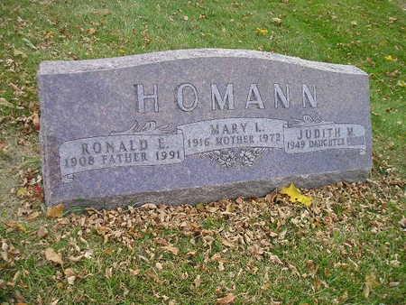 HOMANN, RONALD E - Bremer County, Iowa | RONALD E HOMANN