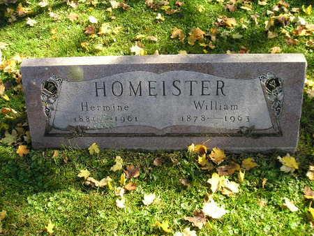 HOMEISTER, HERMINE - Bremer County, Iowa | HERMINE HOMEISTER