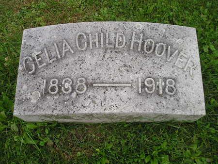 HOOVER, CELIA CHILD - Bremer County, Iowa | CELIA CHILD HOOVER