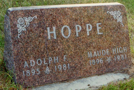 HIGH HOPPE, MAUDE - Bremer County, Iowa | MAUDE HIGH HOPPE