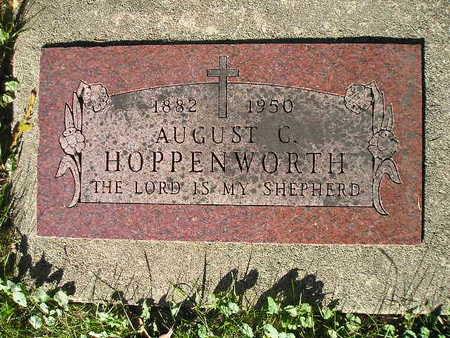 HOPPENWORTH, AUGUST C - Bremer County, Iowa | AUGUST C HOPPENWORTH
