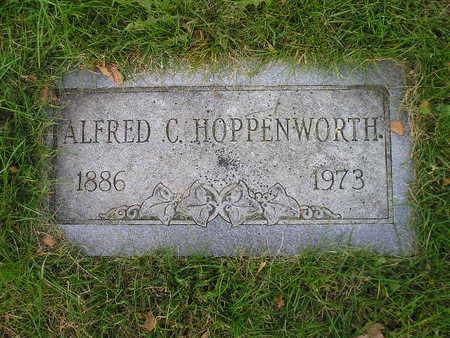 HOPPENWORTH, ALFRED C - Bremer County, Iowa | ALFRED C HOPPENWORTH