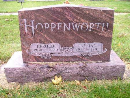 HOPPENWORTH, LILLIAN - Bremer County, Iowa   LILLIAN HOPPENWORTH