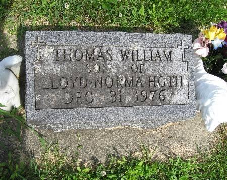 HOTH, THOMAS WILLIAM - Bremer County, Iowa   THOMAS WILLIAM HOTH