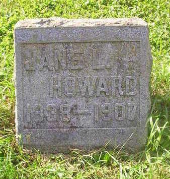 HOWARD, JANE L. - Bremer County, Iowa   JANE L. HOWARD