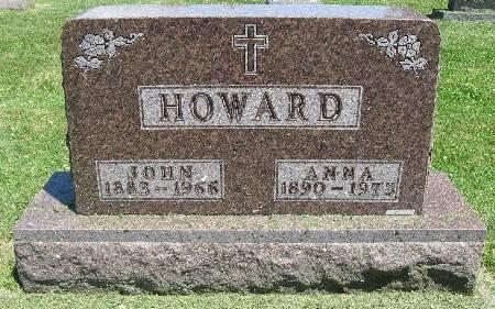 HOWARD, JOHN - Bremer County, Iowa   JOHN HOWARD