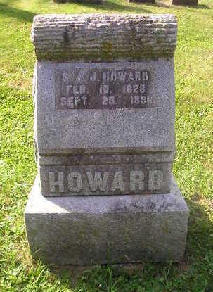 HOWARD, S.A.J. - Bremer County, Iowa   S.A.J. HOWARD
