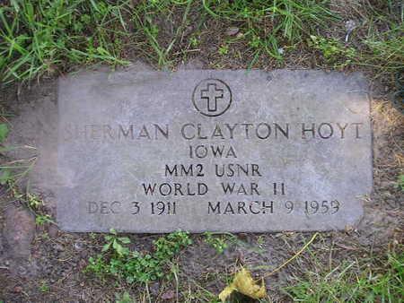 HOYT, SHERMAN CLAYTON - Bremer County, Iowa | SHERMAN CLAYTON HOYT