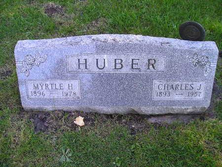 HUBER, MYRTLE H - Bremer County, Iowa   MYRTLE H HUBER