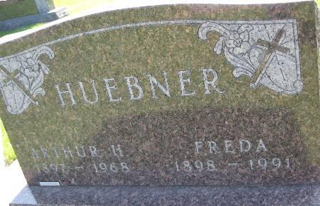 HUEBNER, FREDA - Bremer County, Iowa | FREDA HUEBNER