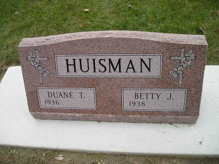 HUISMAN, BETTY J - Bremer County, Iowa | BETTY J HUISMAN