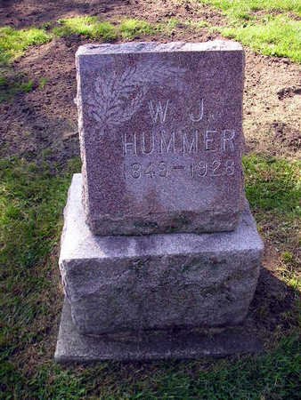 HUMMER, W J - Bremer County, Iowa | W J HUMMER