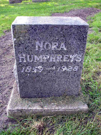 HUMPHREYS, NORA - Bremer County, Iowa | NORA HUMPHREYS