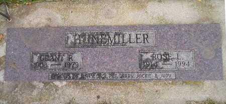 HUNEMILLER, ROSE L - Bremer County, Iowa | ROSE L HUNEMILLER