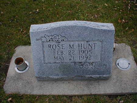 HUNT, ROSE M - Bremer County, Iowa | ROSE M HUNT