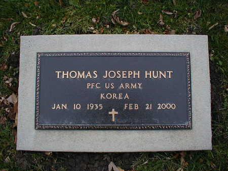 HUNT, THOMAS JOSEPH - Bremer County, Iowa   THOMAS JOSEPH HUNT