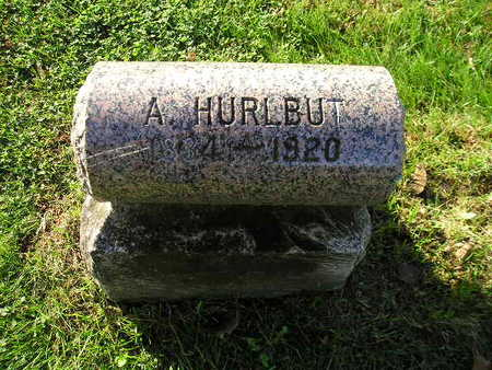 HURLBUT, A - Bremer County, Iowa   A HURLBUT