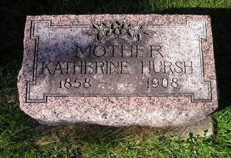 HURSH, KATHERINE - Bremer County, Iowa | KATHERINE HURSH
