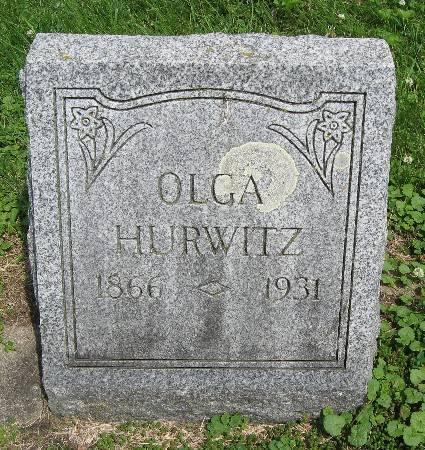 HURWITZ, OLGA - Bremer County, Iowa | OLGA HURWITZ