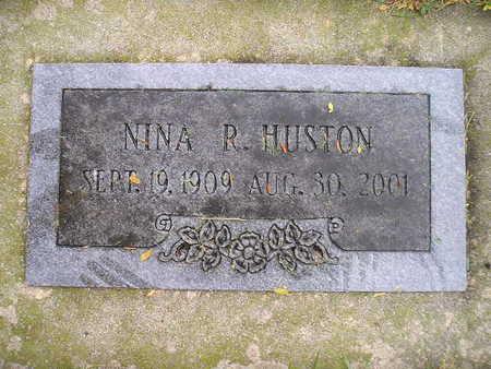 HUSTON, NINA R - Bremer County, Iowa | NINA R HUSTON