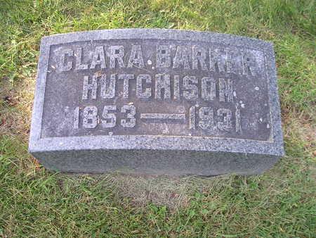 HUTCHISON, CLARA - Bremer County, Iowa | CLARA HUTCHISON