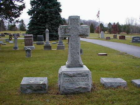 IDE, CONRAD - Bremer County, Iowa   CONRAD IDE