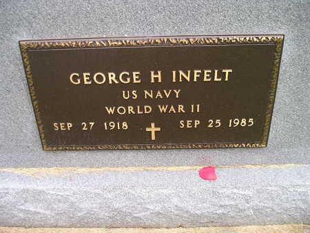 INFELT, GEORGE H - Bremer County, Iowa | GEORGE H INFELT