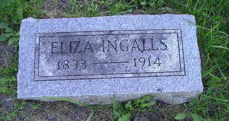 INGALLS, ELIZA - Bremer County, Iowa | ELIZA INGALLS