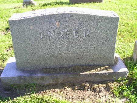 INGER, FAMILY - Bremer County, Iowa   FAMILY INGER