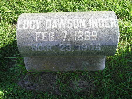 INGER, LUCY - Bremer County, Iowa | LUCY INGER