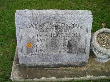 INGERSOLL, ELIDA A - Bremer County, Iowa | ELIDA A INGERSOLL