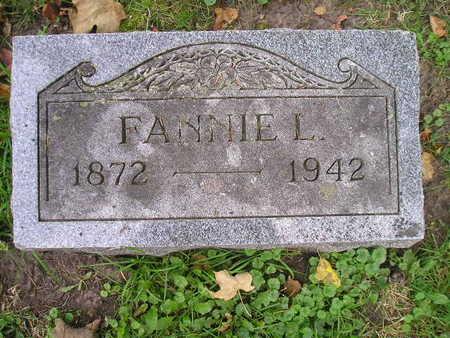 INGERSOLL, FANNIE L - Bremer County, Iowa | FANNIE L INGERSOLL