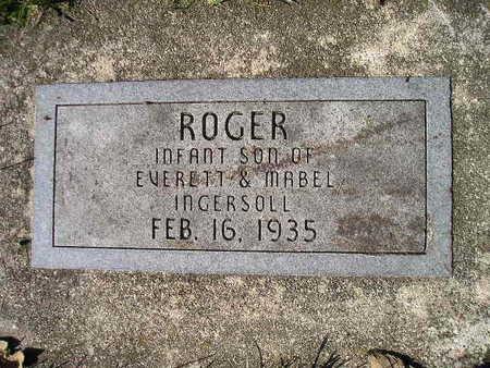 INGERSOLL, ROGER - Bremer County, Iowa | ROGER INGERSOLL