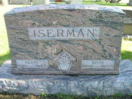 ISEMAN, HENRY - Bremer County, Iowa   HENRY ISEMAN
