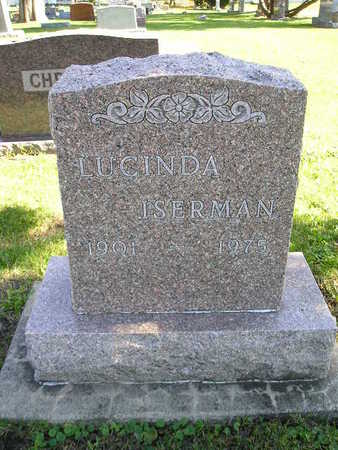 ISEMAN, LUCINDA - Bremer County, Iowa   LUCINDA ISEMAN